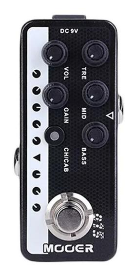 Pedal Mooer M015 Pré Amp Bron Sound Peavey 5150