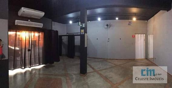 Salão Para Alugar, 110 M² Por R$ 2.000/mês - Centro - Boituva/sp - Sl0015