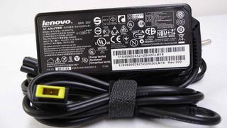 Cargador Lenovo Original 20v 3.25a 65w Punta Rectangular Usb