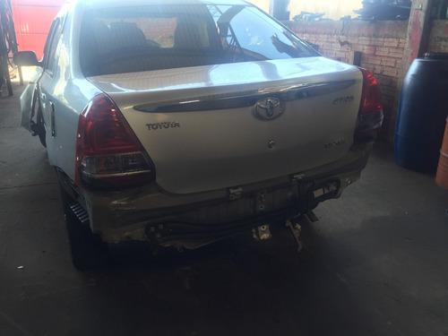 Sucata Toyota Etios 1.5  2013  Para Venda De Peças