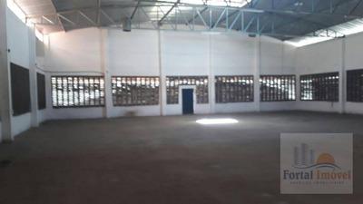 Galpão   Depósito 700m² Em Terreno De 1000m² Comercial Para Venda E Locação, Parangaba, Fortaleza. - Ga0047