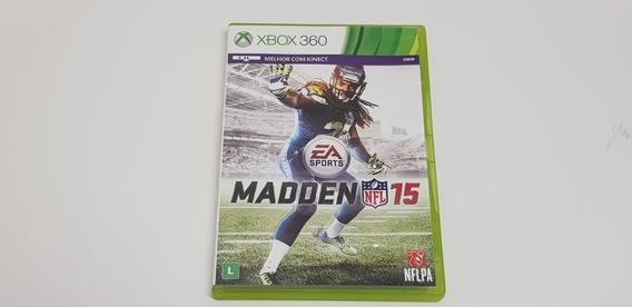 Madden Nfl 15 - Xbox 360 - Original Ntsc