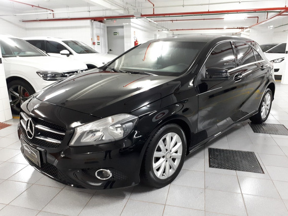 Mb A 200 1.6 Turbo Style 16v 4p Aut 2013/2013 Preto Blindado