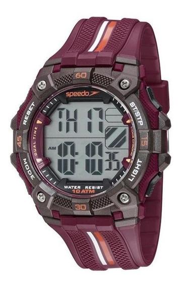 Relógio Masculino Speedo Digital 80629g0evnp2 Vermelho