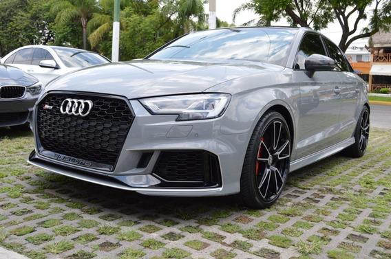 Audi Rs3 2018 Sedan Gris Nardo
