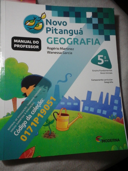 Novo Pitanguá Geografia 5º Ano Fundamental Manual Professor