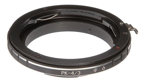 Anel Adaptador Lente Pentax Pk-4/3 Olympus Panasonic