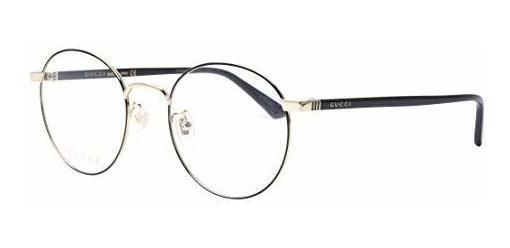 Gucci Gg0297ok Trendy Round Metal Eyeglasses 52mm