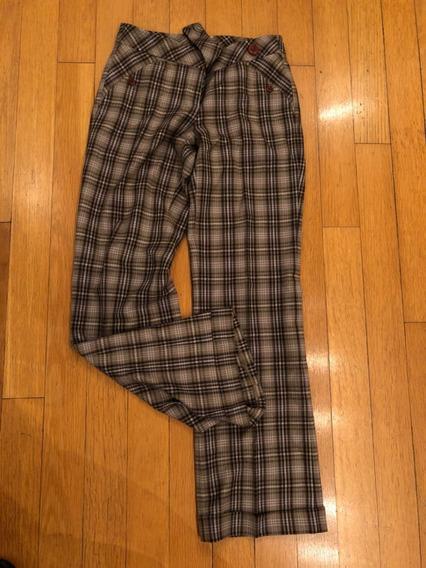 Pantalon Ayres. A Cuadros