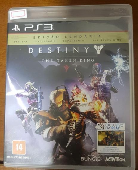 Jogo De Ps3 Destiny The Taken King