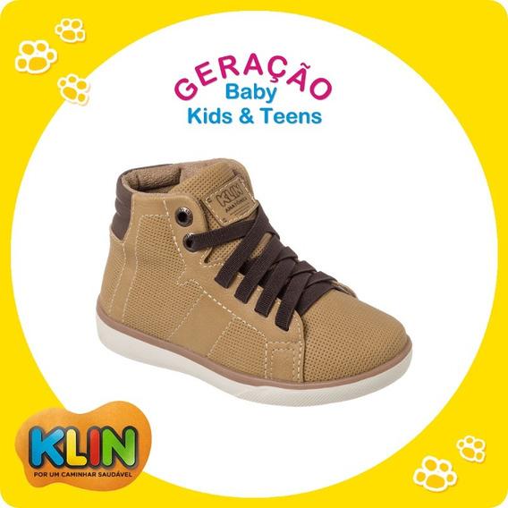 Tênis Bota Bebê Infantil Cano Alto Klin Baby Flyer 20932