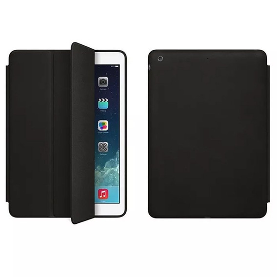 Capa Smart Case Apple iPad 5 Air 1 Sensor + Película Vidro