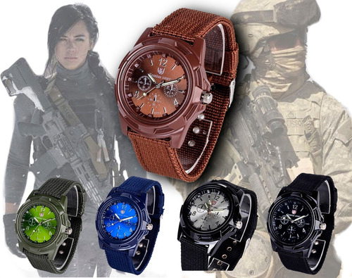 Reloj Tactico Militar Scout Army Hombre Caballero Deportivo