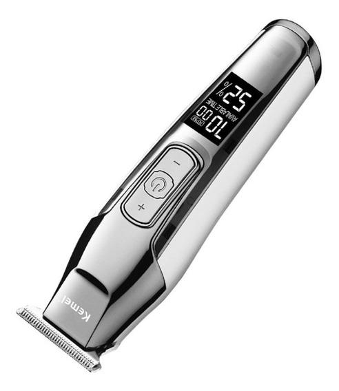 Aparador Cortador De Cabelo Barba Acabamento Mod. Kemei 5027 Produto Profissional Em Estoque No Brasil Frete Grátis Leve