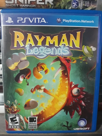 Jogo Físico Para Ps Vita - Rayman Legends Playstation Vita