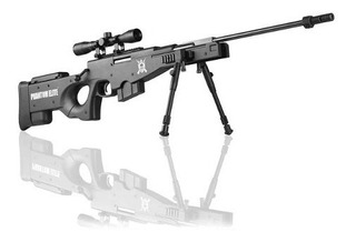 Rifle De Pressão Phantom Elite L115-b Awm Sniper 4,5mm Gás R