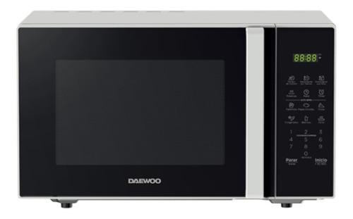 Imagen 1 de 1 de Daewoo Horno Microondas 1.1 Pies Negro Y Blanco Dmdxx11s2bw