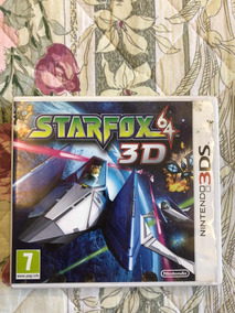 Starfox 64 3d Nintendo 3d Original Europeu