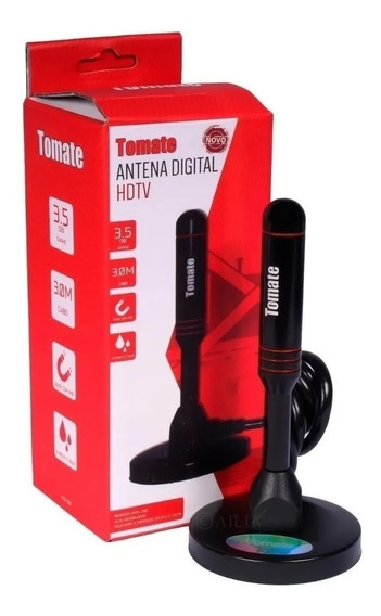 Antena Digital Hd Interna / Externa Mta-3011 - Tomate