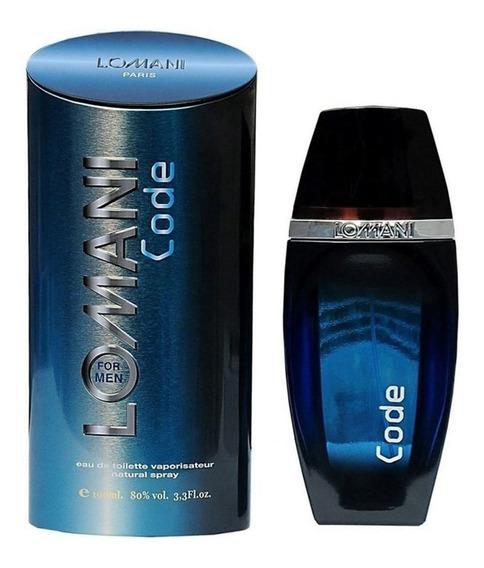 Lomani Code 100ml Perfume Masculino Original E Lacrado