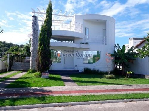 Linda Casa Com Escritura - Casa A Venda No Bairro Cachoeira Do Bom Jesus - Florianópolis, Sc - 120