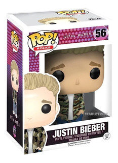 Funko Pop Justine Bieber 56 Original Pop Rock Scarlet Kids