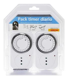 Pack 2 Timer Diario
