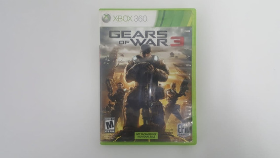 Jogo Gears Of War 3 - Xbox 360 - Original