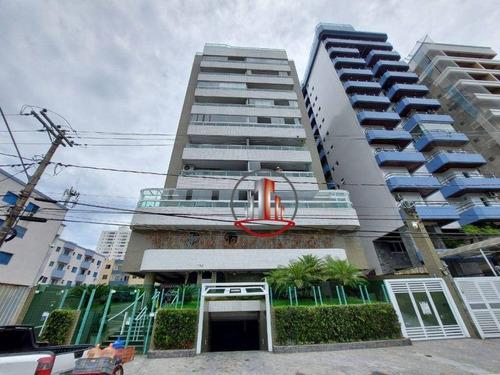 Apartamento Com 1 Dormitório À Venda, 50 M² Por R$ 210.000,00 - Canto Do Forte - Praia Grande/sp - Ap2438