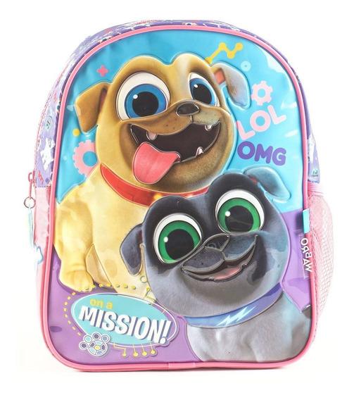 Mochila Espalda Jardin 12p Disney Puppy Dog 70100 Mundomania
