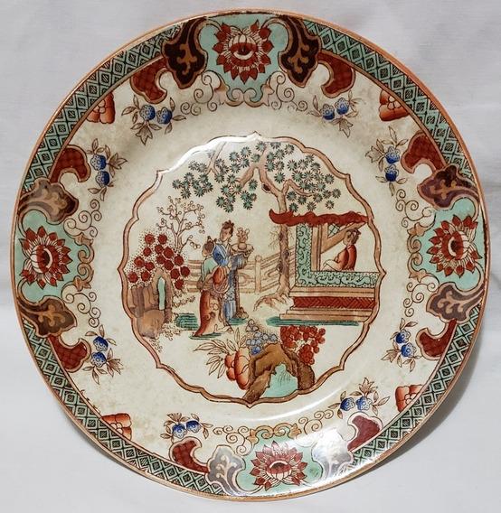 Plato Decorativo Holandés De Colección Maestricht Cantón