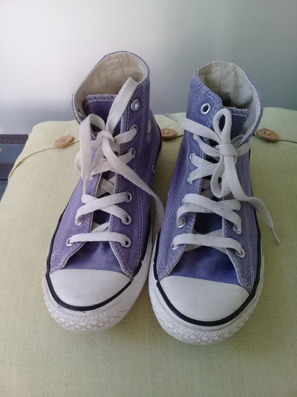 Zapatillas Converse All Star N°34 - Unisex - Lila