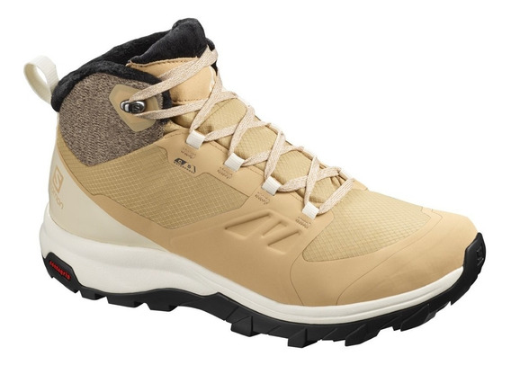 Botas Salomon Impermeables Mujer Outsnap Cswp W Pº