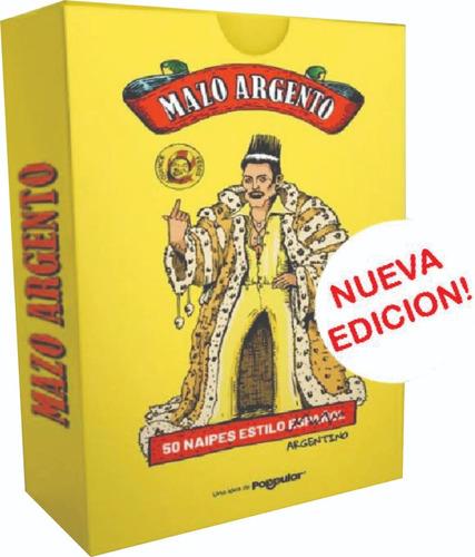 Juego Naipes Cartas Españolas Truco Mazo Argento Previa