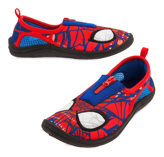 Zapatillas Para Agua Neoprene Spiderman Originales Disney