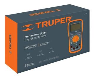 Multitester Multimetro Digital Profesional Truper