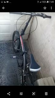 Bici Plegable Usada Unisex Negra