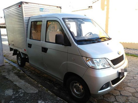 Rely Pick-up Cab. Dupla Com Baú 2014 Baixa Km Utilitário 5 P