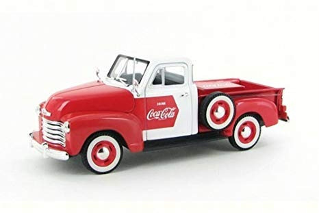 Chevrolet 1953 Pickup De Coca Cola Escala 1:32 - Motor City