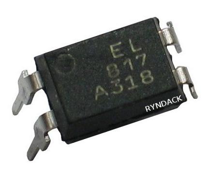 24 Peças * Optoacoplador Acoplador Optico El817 El817a Pc817