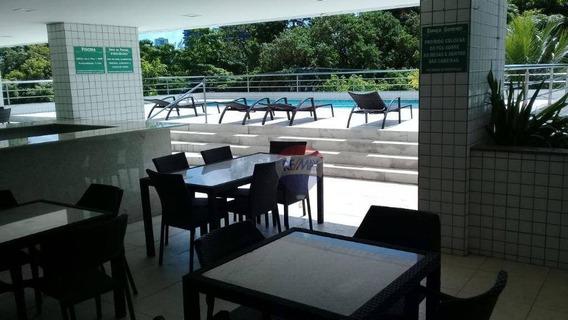 Flat No Bairro Da Jaqueira, O Melhor Da Zona Norte Do Recife - Fl0044