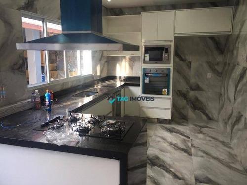 Imagem 1 de 9 de Casa Com 2 Dormitórios À Venda, 250 M² Por R$ 450.000,00 - Vila Padre Manoel De Nóbrega - Campinas/sp - Ca0817
