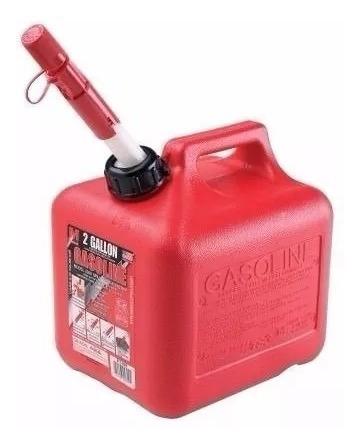 Galon O Bidon De Gasolina - 2 Galones Importado