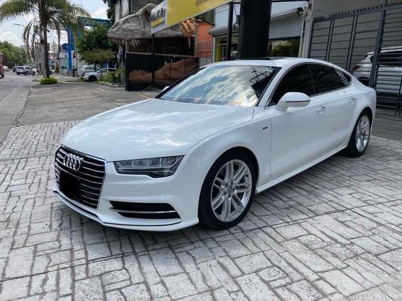 Audi A7 S Line 2017 Blanco