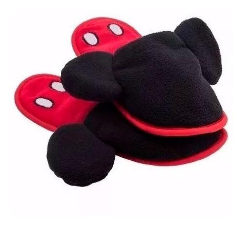 Pantuflas Mickey Disney Unisex Calidas Comodas Y Suaves