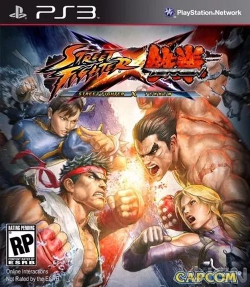 Jogo Street Fighter X Tekken Playstation 3 Original