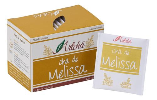Chá De Melissa Caixa C/15 Sachês 15gr - Artchá