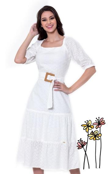 Vestido Midi De Laise Hapuk Modelo Luana