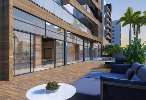 Apartamento De Luxo Com Alto Padrão De Acabamento De 2 Quartos, 1 Suíte, Sacada Gourmet Com Churrasqueira A Carvão - Ap0747