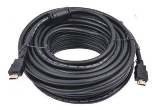 Cable Hdmi De 20m Soporta Resoluciones En 4k